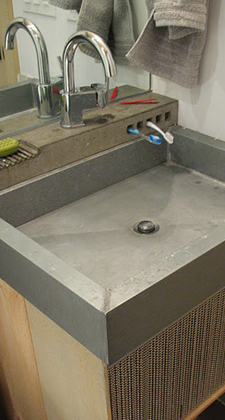 Giftbox Zinc Sink